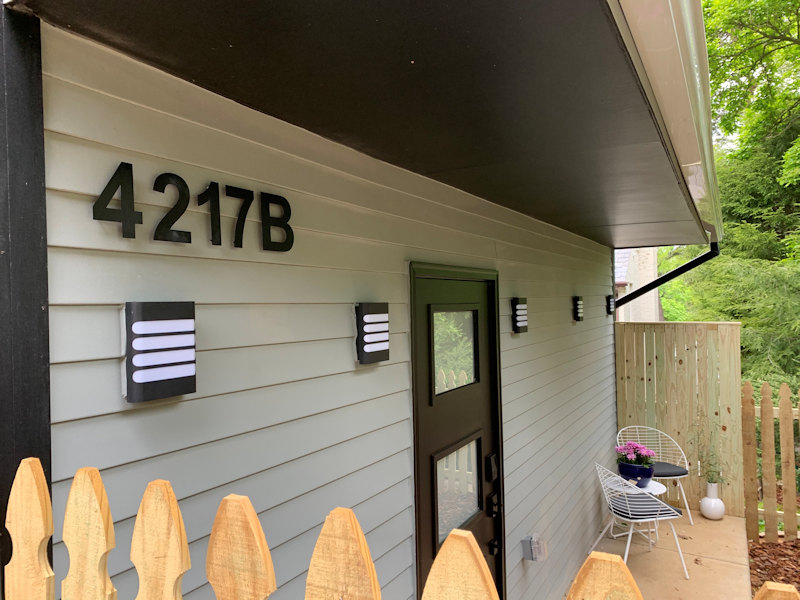Garage converted to Accessory Dwelling Unit