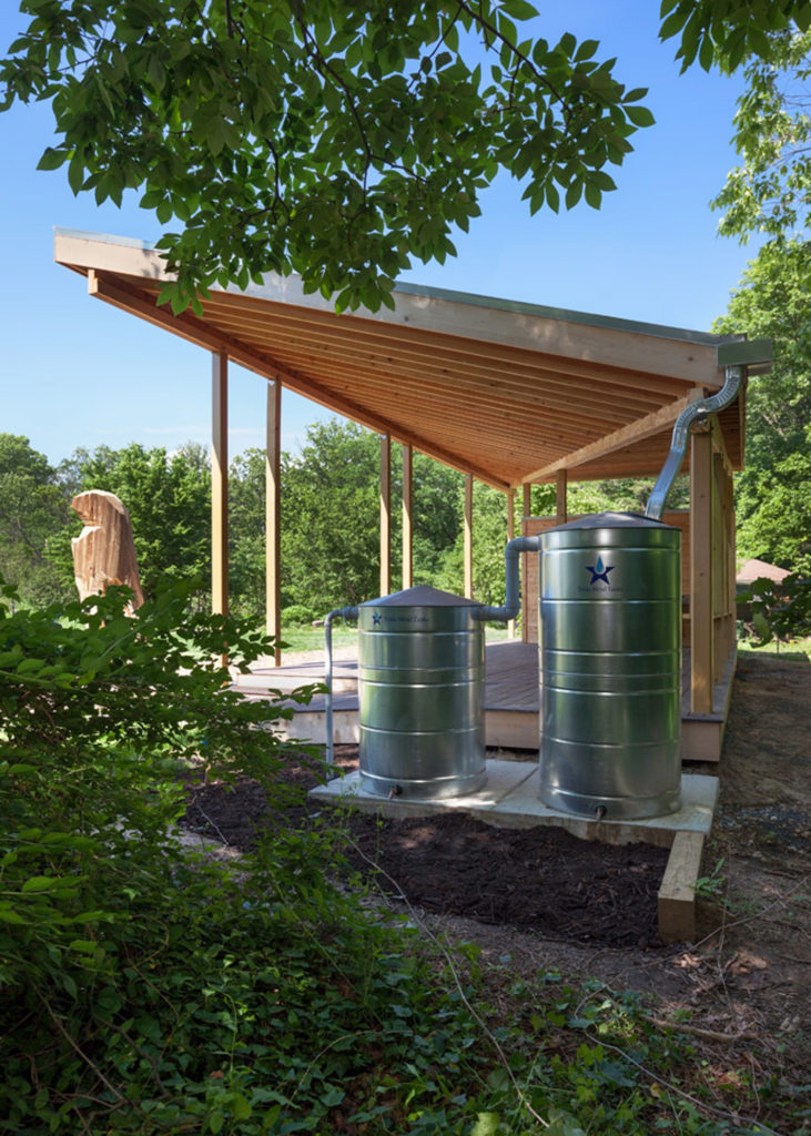 Loudoun Contracting participated in the construction of the Pavilion at Washington Youth Garden
