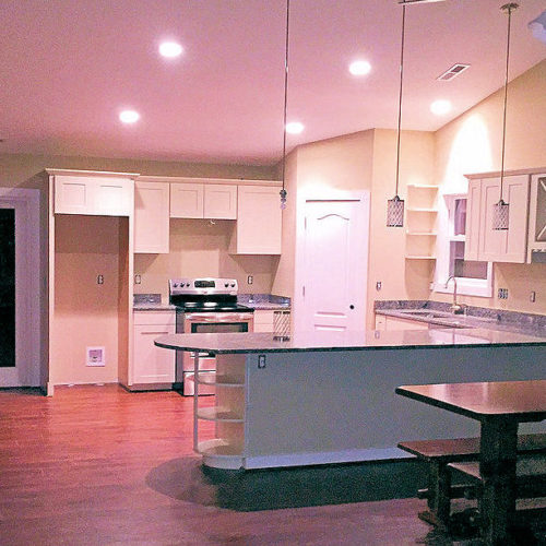 Loudoun Contracting's New Home Build in Montross Virginia - Kitchen